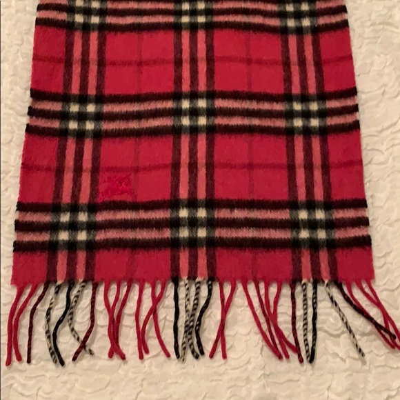 Burberry scarf - cashmere - gently used